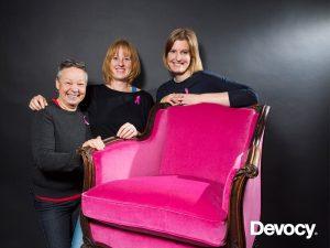 En stol för rosa bondet